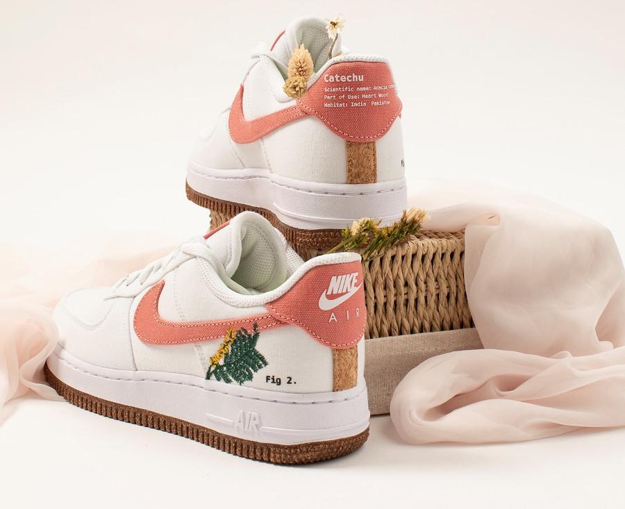 Nike Air Force One White Light Sienna (3)