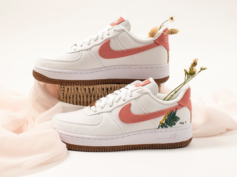 Nike Air Force One White Light Sienna (4)