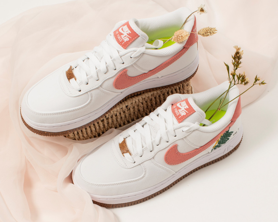 Nike Air Force One White Light Sienna (5)