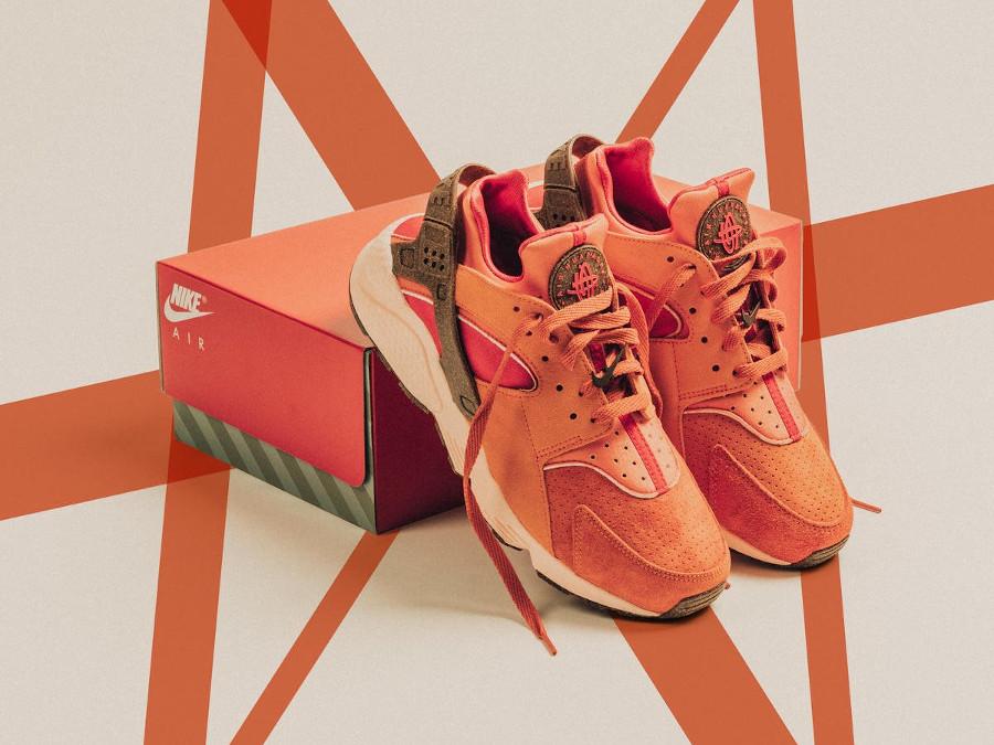 Nike Air Huarache 2021 Chile Red (1)