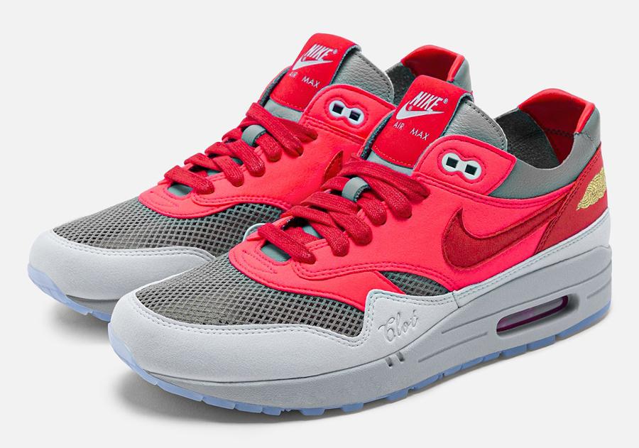 Nike Air Max 1 Clot Solar Red date de sortie