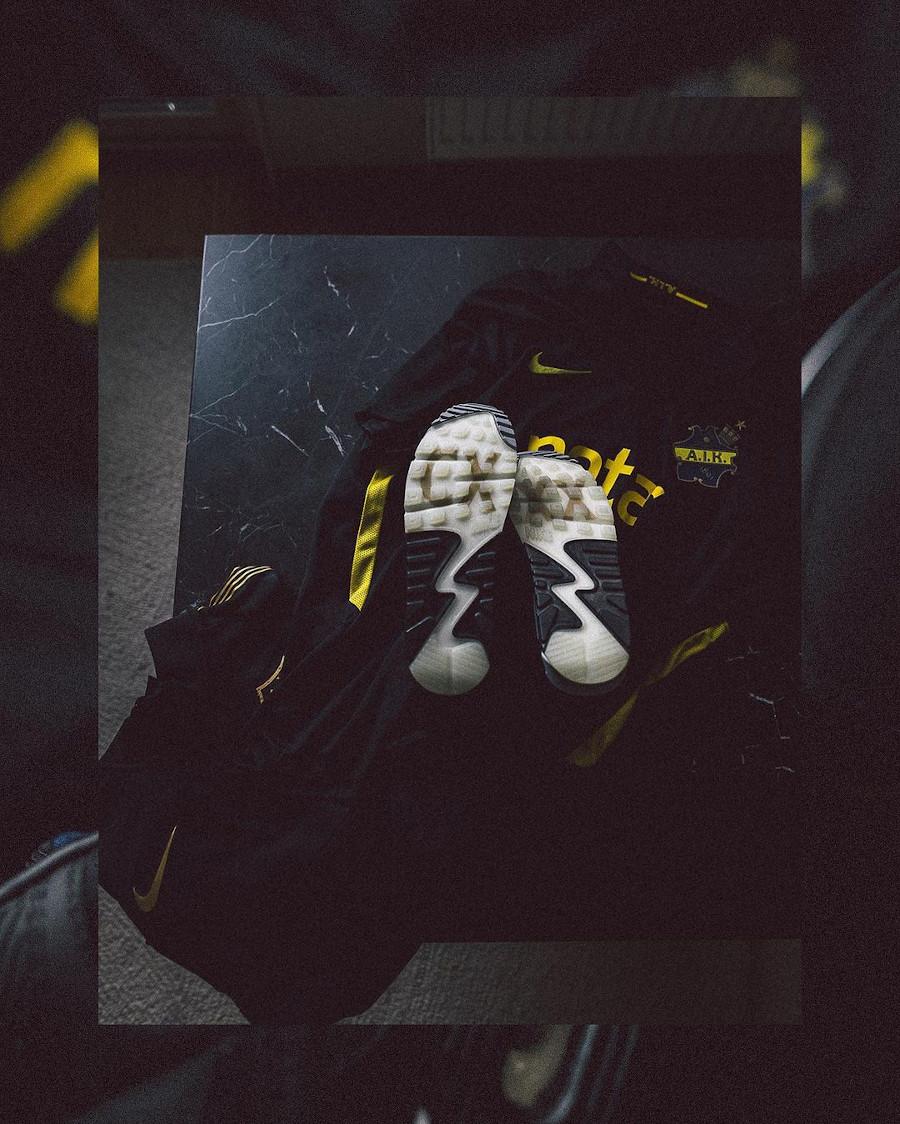 Nike Air Max 90 Premium Black Gold Allmänna Idrottsklubben (2)