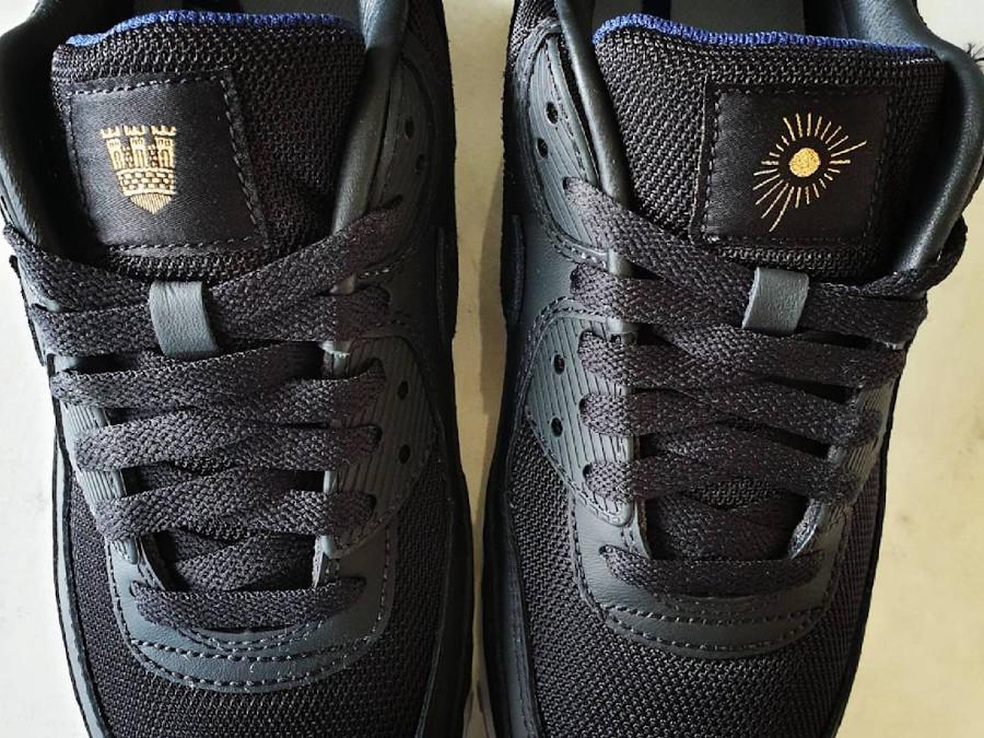 Nike Air Max 90 Premium Black Gold Allmänna Idrottsklubben (5)