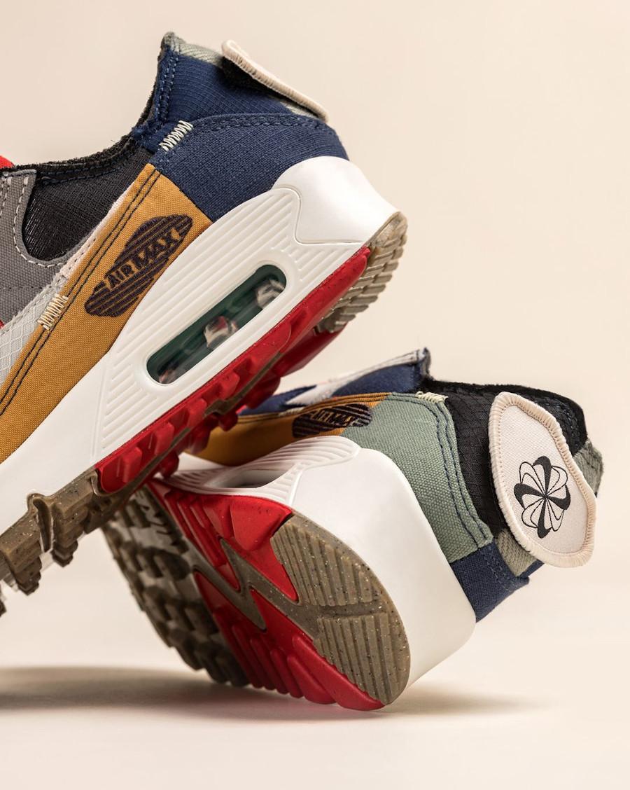 Nike Air Max 90 Wmns recyclée multicolor (1)