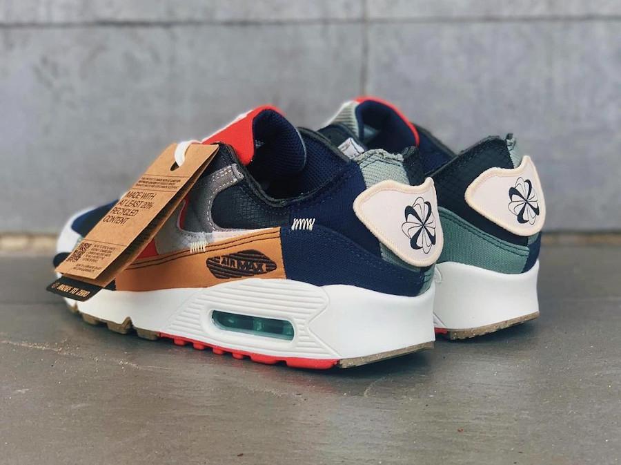 Nike Air Max 90 Wmns recyclée multicolor (5)