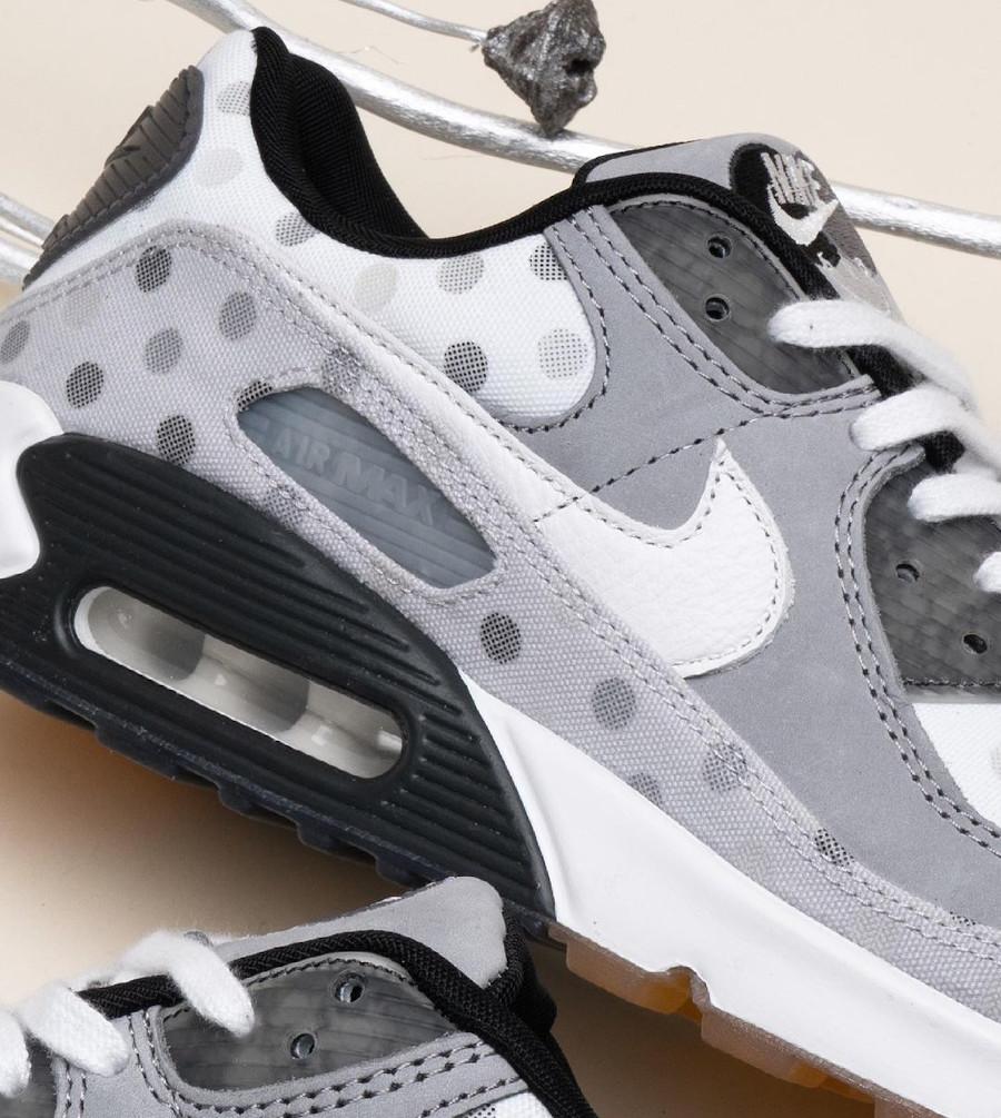 Nike Air Max 90 grise (motif à pois) cz1929-100 (3)