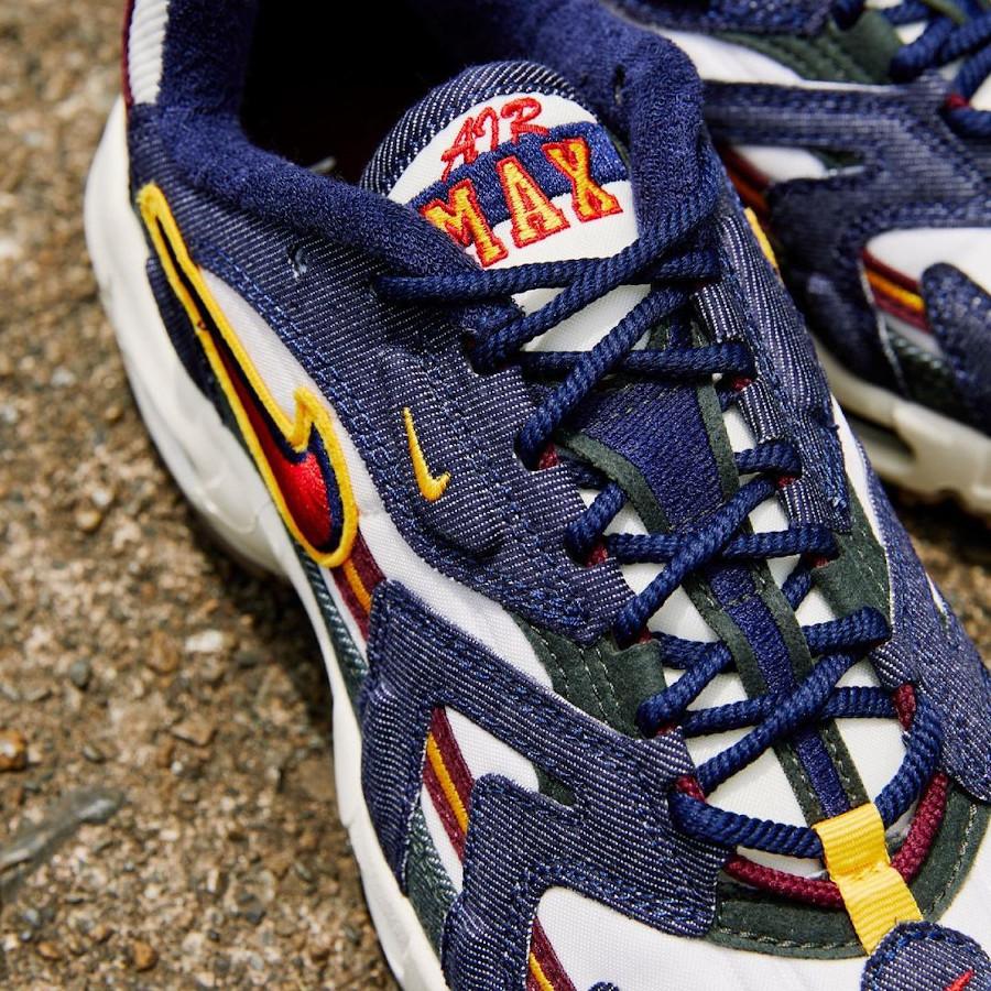 Nike Air Max 96 2 jeans bleu DJ6742 400 (1)