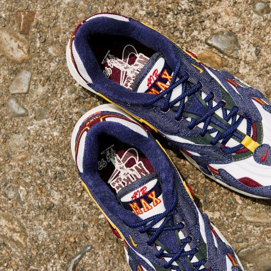 Nike Air Max 96 2 jeans bleu DJ6742 400 (2)