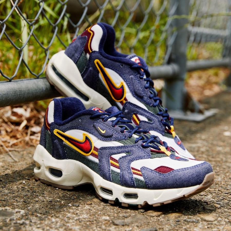 Nike Air Max 96 2 jeans bleu DJ6742 400 (3)