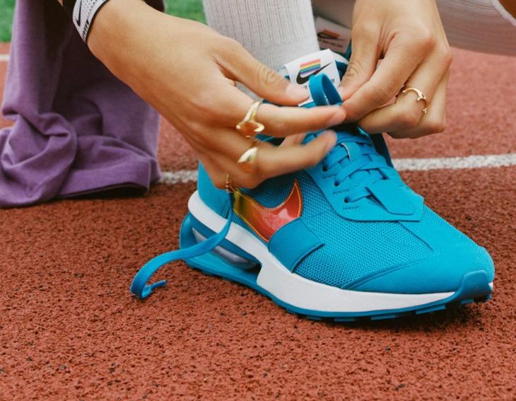 Nike Air Max Pre-Day Be True 2021 on feet