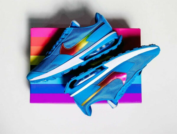 Nike Air Max PreDay BeTrue LGBTQ 2021 Rainbow Swoosh