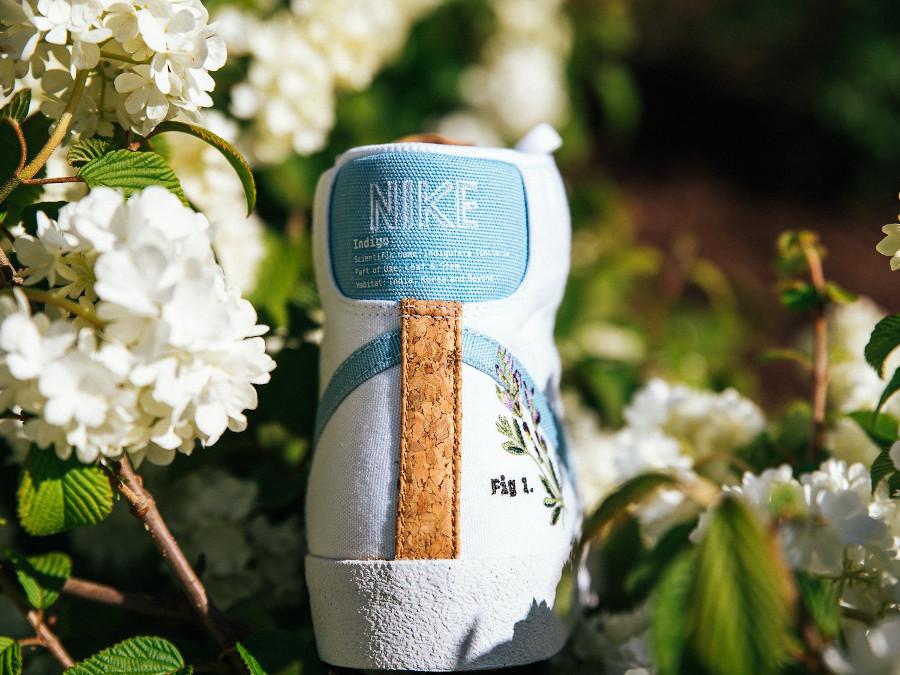 Nike Blazer Mid 77 Floral indigotier (2)