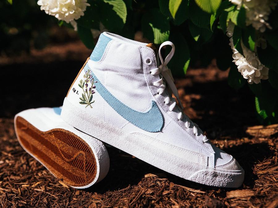 Nike Blazer Mid 77 Floral indigotier (6)