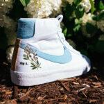 Nike Blazer Mid '77 SE Indigo Flower