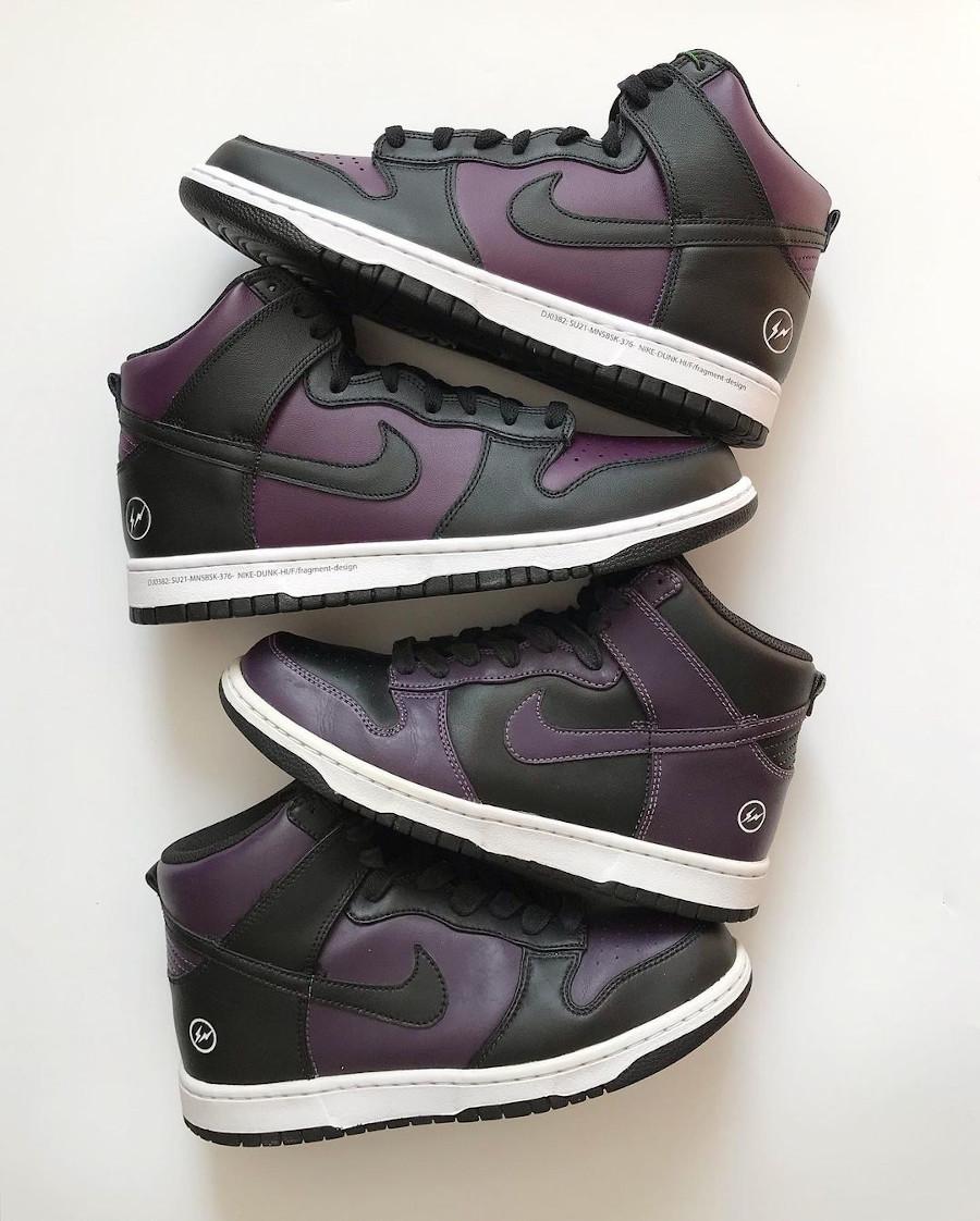 Nike Dunk High Fragment Beijing 2010 2021