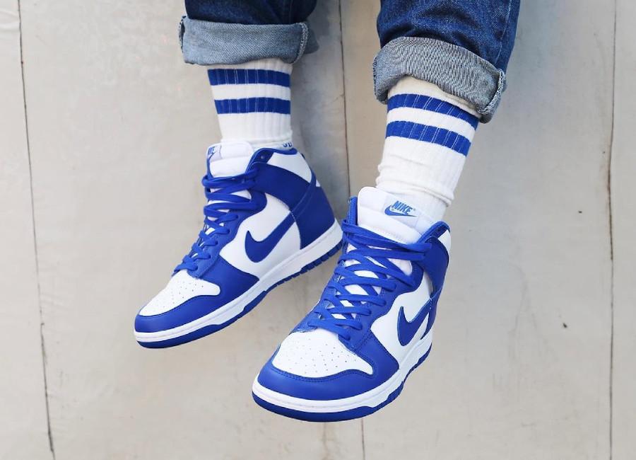 Nike Dunk High Retro Kentucky Game Royal 2021