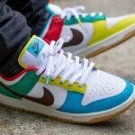 Nike Dunk Low Free 99 'White' Chocolate Roma Green