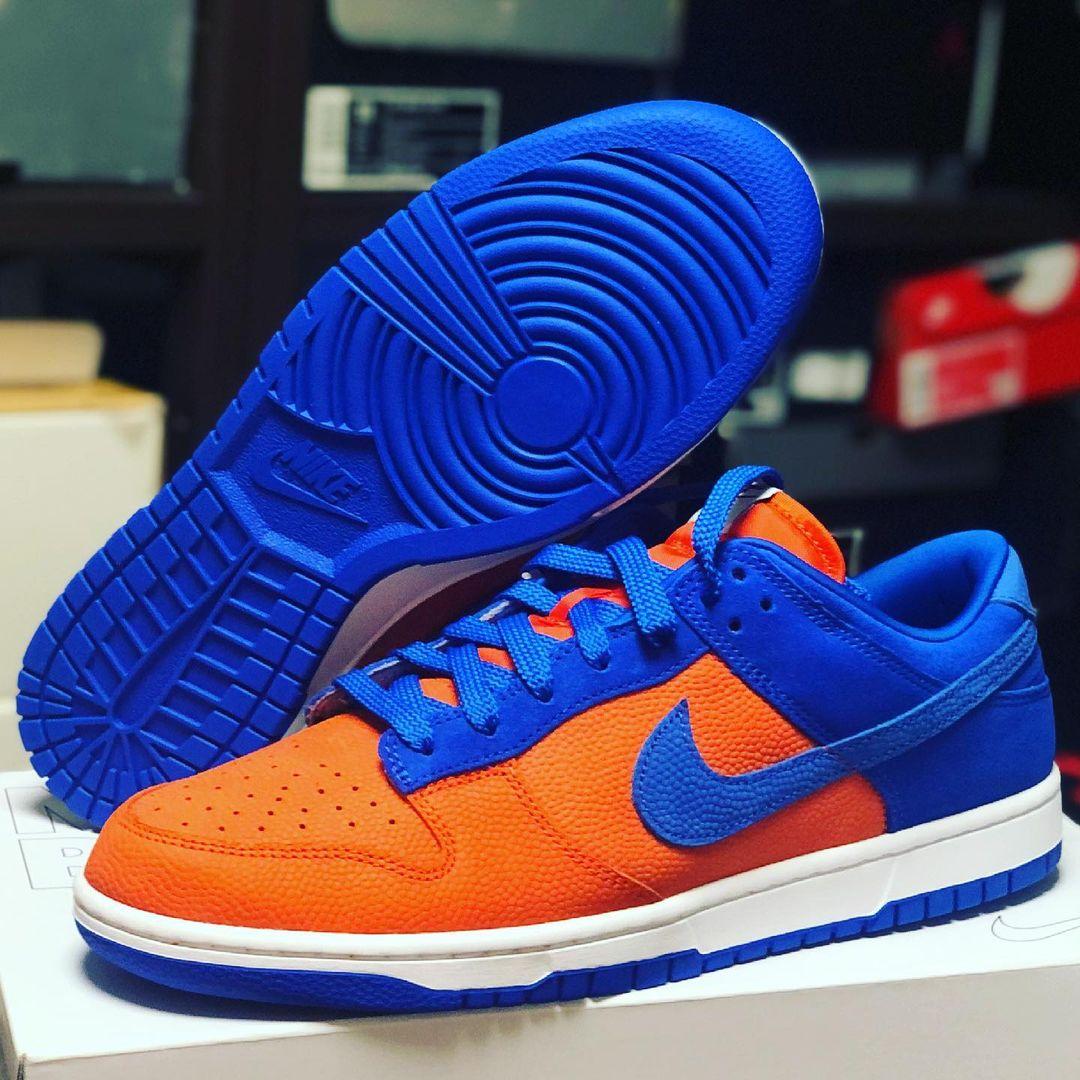 Nike Dunk Low by You Knicks snikichi
