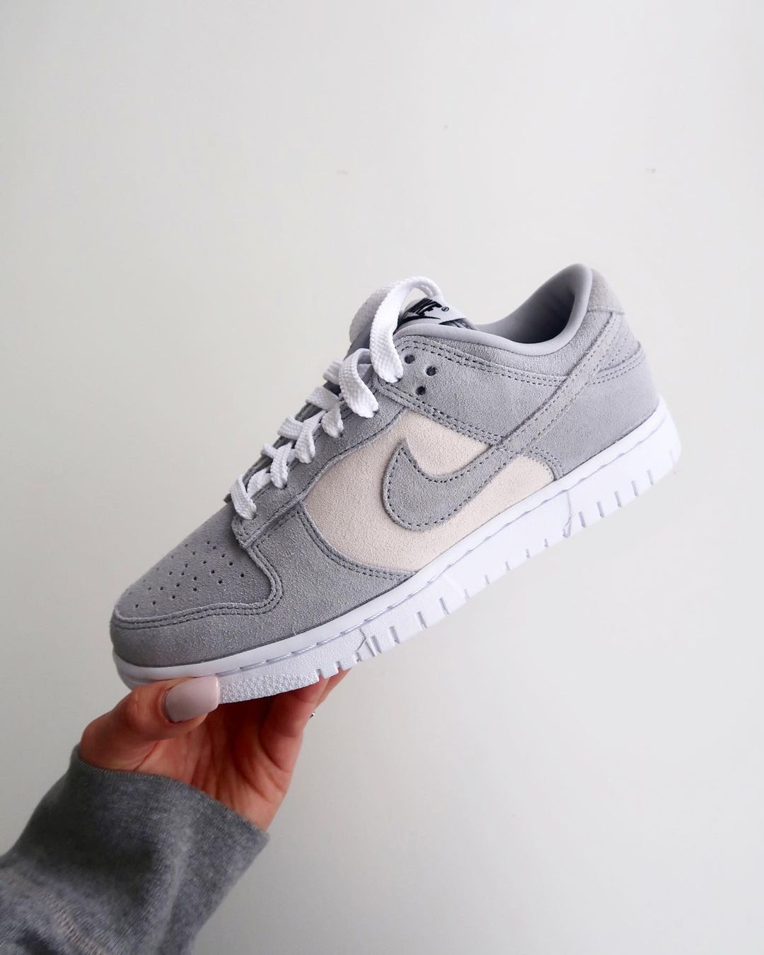 Nike Dunk Low by You Neutral Grey kympham_