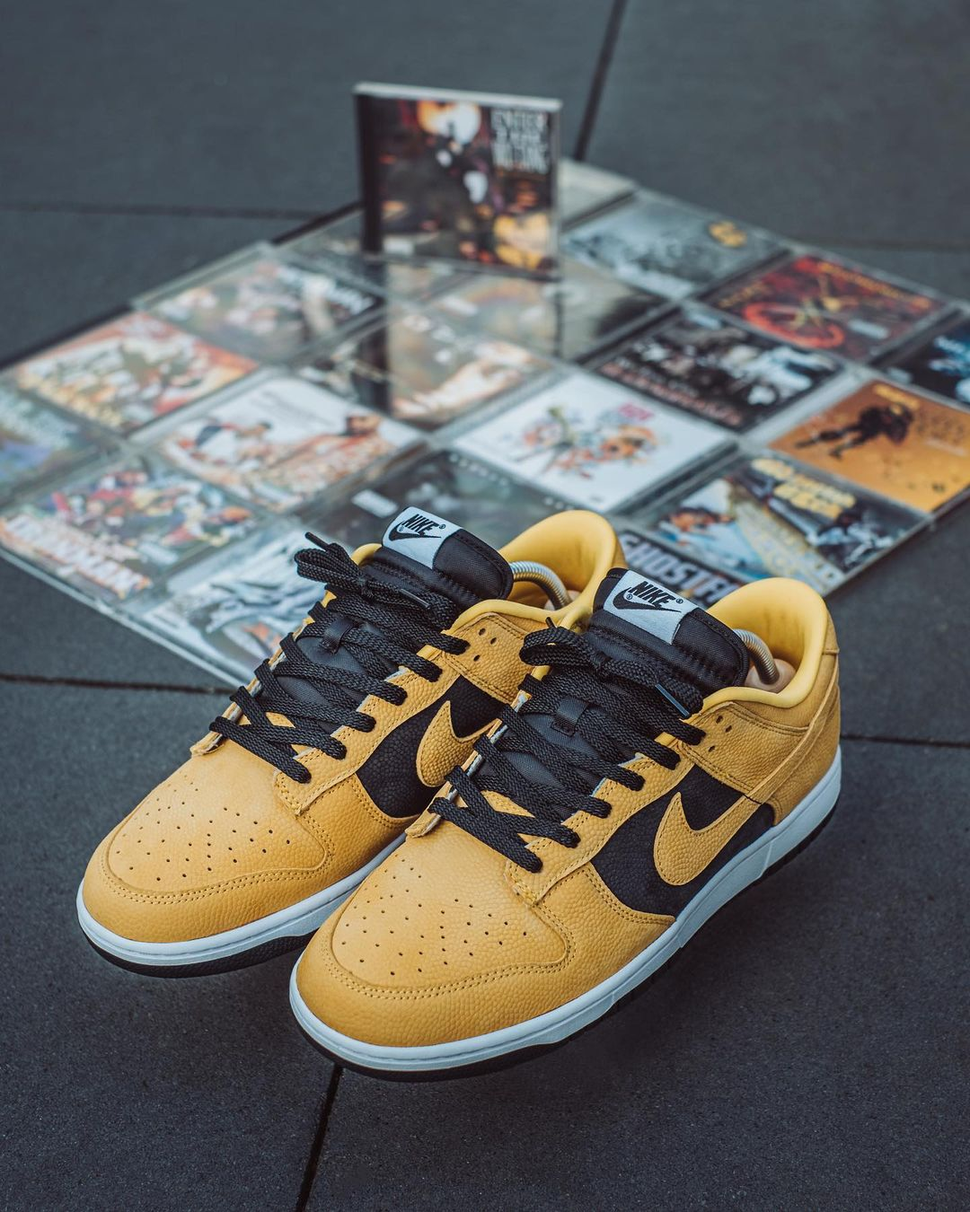 Nike Dunk Low by You Wu Tang pimharing