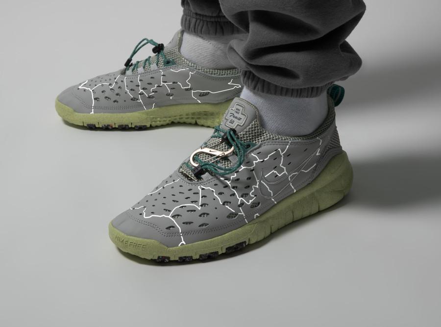 Nike Free Run Trail 5.0 Regrind Berlin Hyperlocal on feet