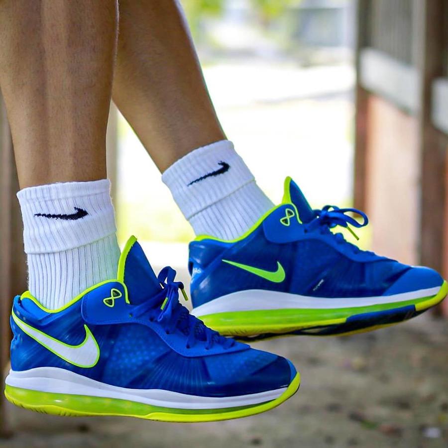 Nike Lebron 8 Low Sprite 2011 on feet (1)