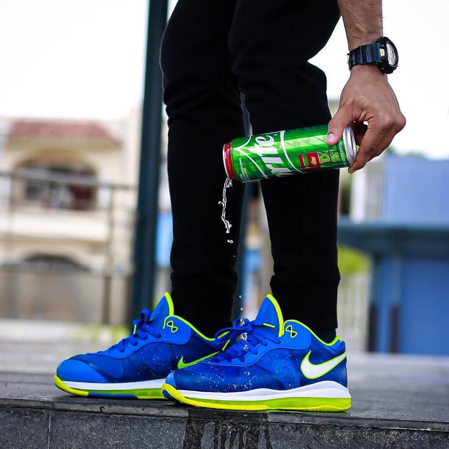 Nike Lebron 8 Low Sprite 2011 on feet (2)