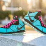 Nike Lebron VIII 'South Beach' Filament Green Retro 2021