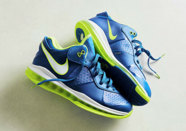 Nike Lebron 8 V2 Low QS Sprite Treasure Blue 2021