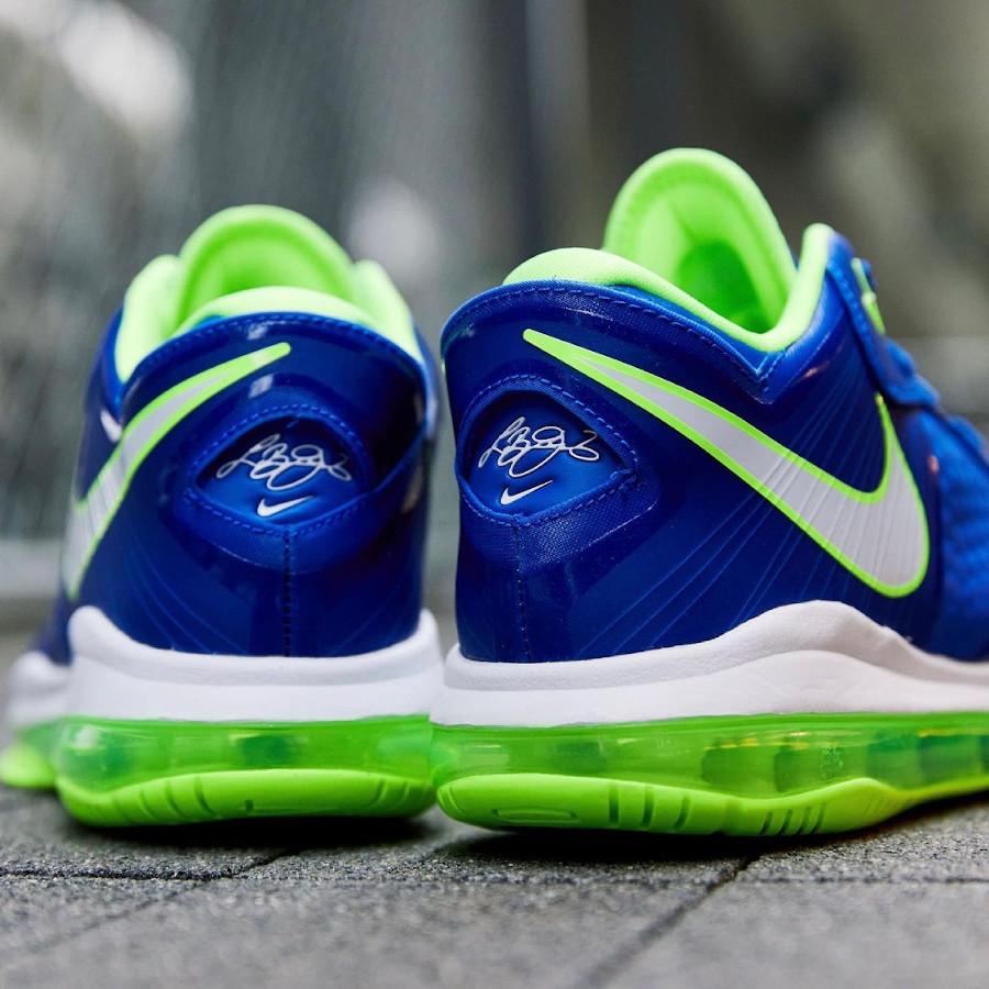 Nike Lebron VIII Low canette soda bleu et vert fluo (1)