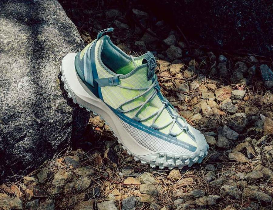 Nike Mountain Fly Low ACG QS Sea Glass Lime Blast