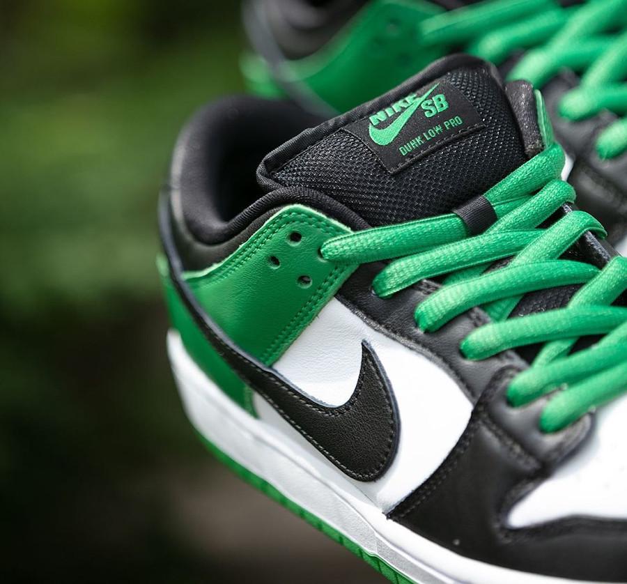 Nike-SB-Dunk-Low-blanche-verte-et-noire-3