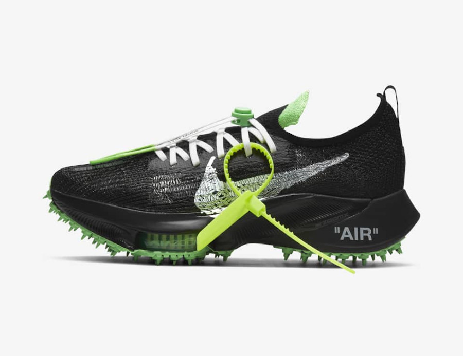 Off White x Nike Air Zoom Tempo NEXT% Black date de sortie