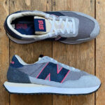 Sneakersnstuff x New Balance 237 Snakeskin Blue Racer