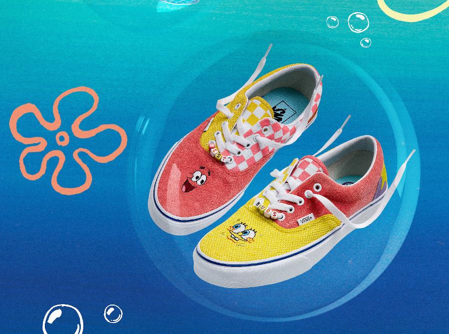 Vans Era Spongebob Best Buds
