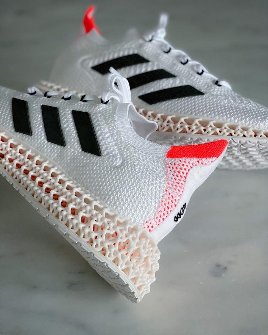 Adidas 4D Forward TKYO blanche et rouge (2)