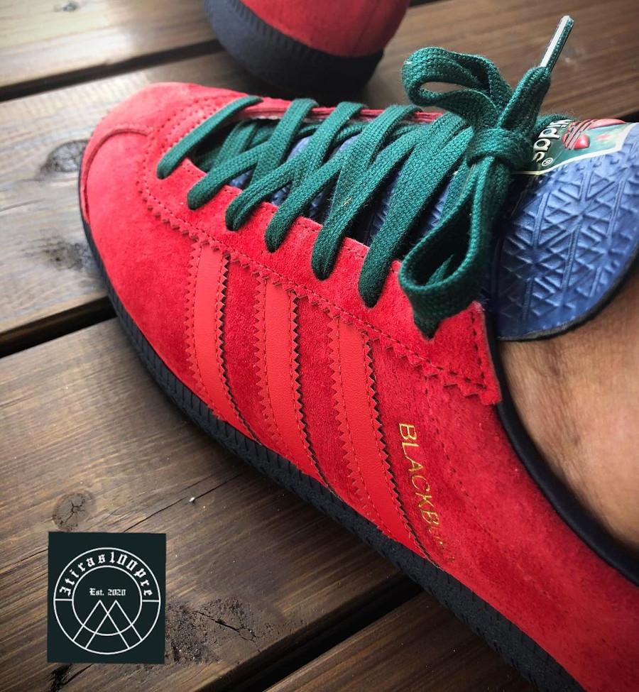 Adidas Blackburn rouge on feet (4)