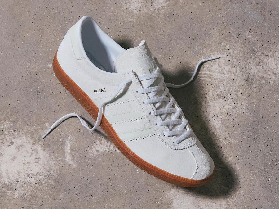 Adidas Blanc Cloud White Metallic Gold (1)