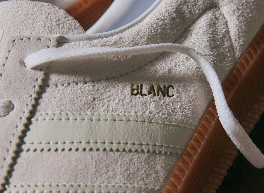 Adidas Blanc Cloud White Metallic Gold (2)