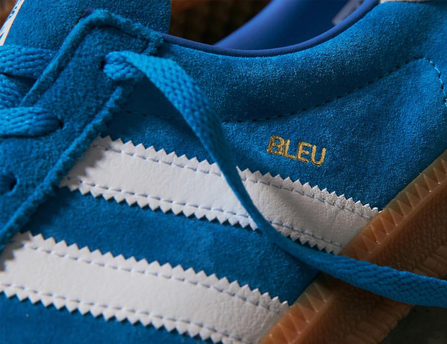 Adidas Bleu Bright Blue Metallic Gold (2)