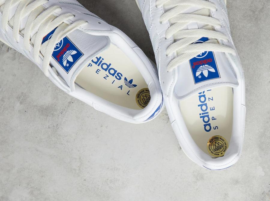 Adidas Burnden blanche et crème (1-1)