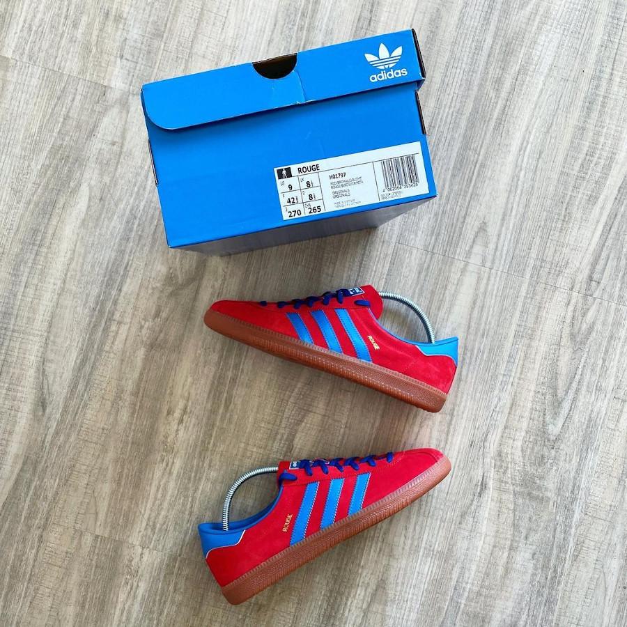 Adidas Gazelle Rouge 2021 (3)