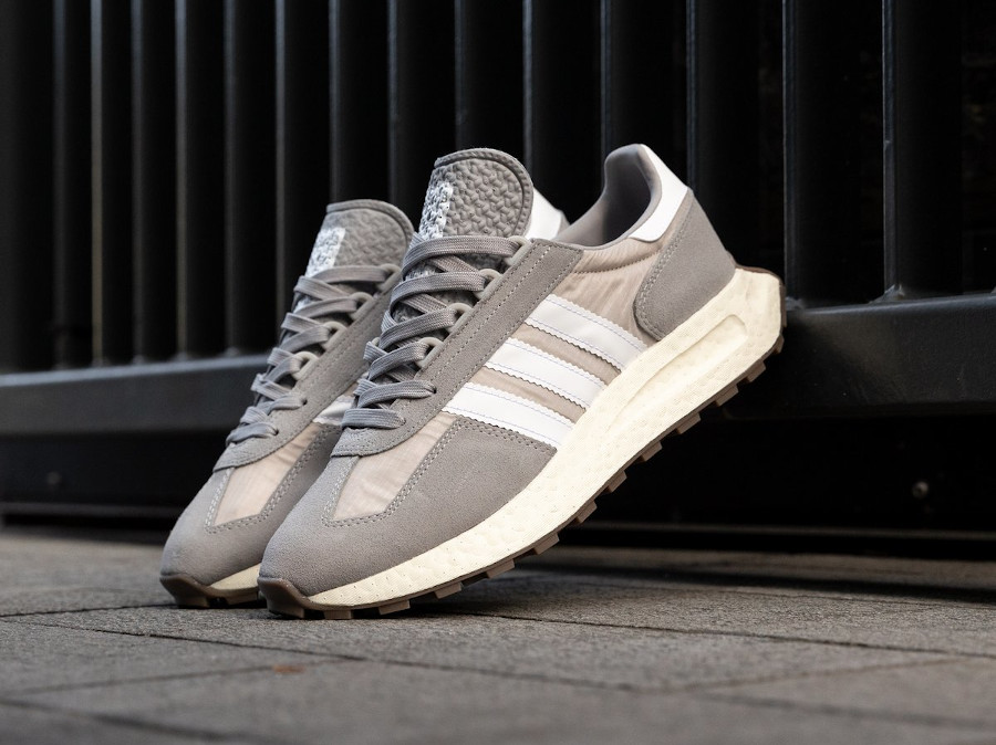 Adidas Racing 1 Boost grise (1)