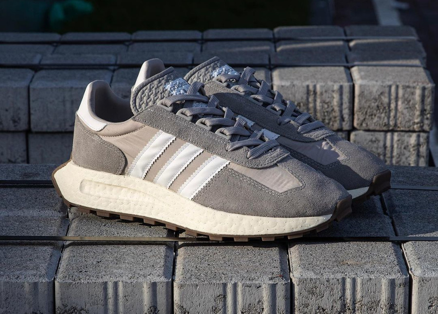 Adidas Racing 1 Boost grise (2)