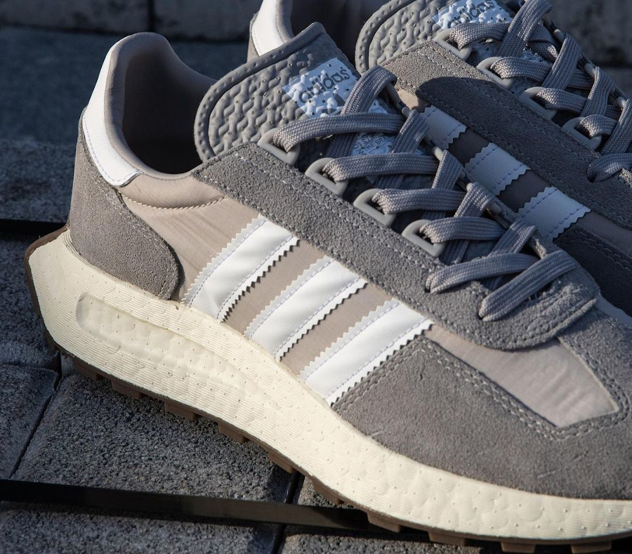 Adidas Racing 1 Boost grise (3)