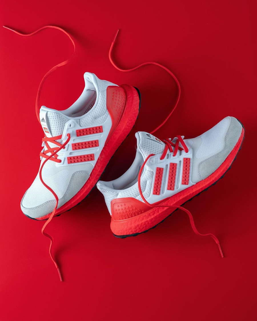 Adidas Ultra Boost brique rouge H67955 (1)