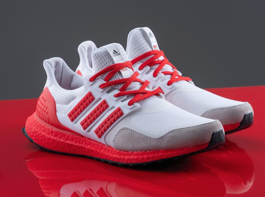Adidas Ultra Boost brique rouge H67955 (2)