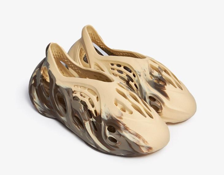 Adidas Yeezy Foam Runner beige marron et grise (1)