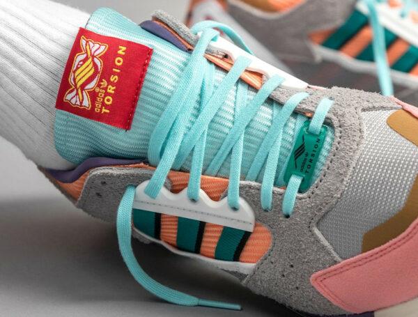 Adidas ZX 10 8 Candyverse on feet