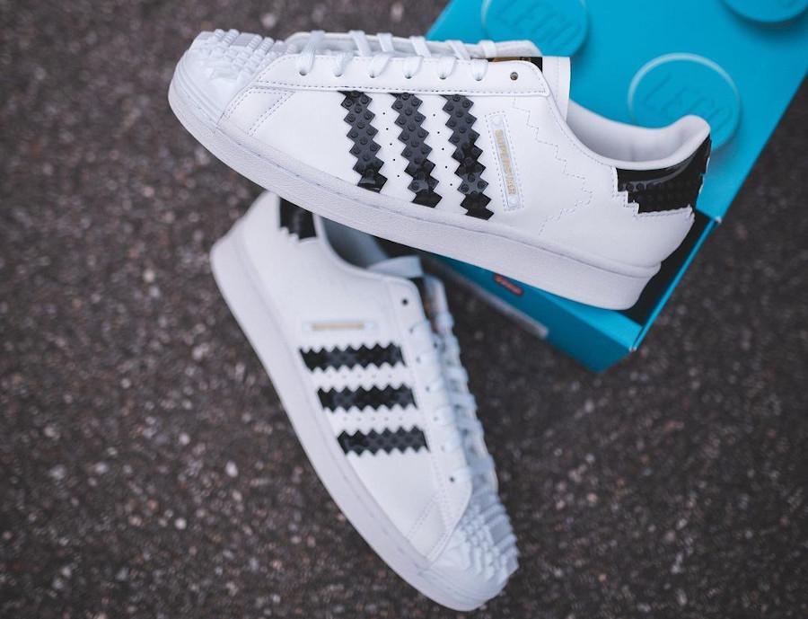 Adidas x Lego® Superstar 360 White Black FZ8497